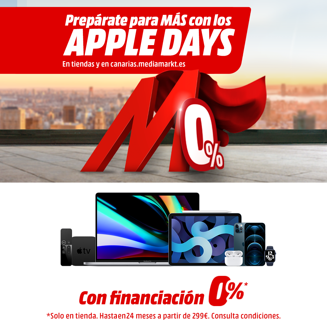 Apple days Mediamarkt
